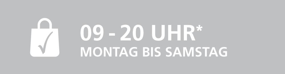 Veybach-Center Banner Öffnungszeiten
